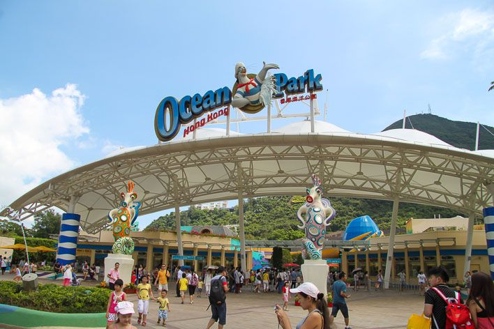 Hong Kong island's sea-themed park has thrill rides, a huge aquarium, areas for young kids and more. My husband and I had season passes here even before becoming parents.