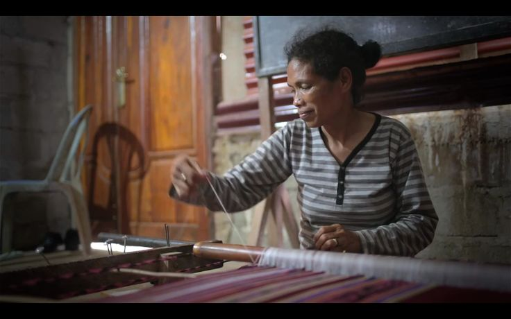 Fair trade means weavers like Anita are rewarded for their dexterity and skill. Weaving Fair Futures