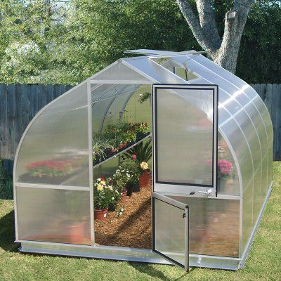 Hoklartherm RIGA IV 9.6 x 14-Foot Greenhouse Kit