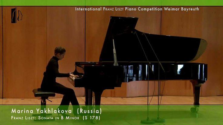 Marina Yakhlakova plays Liszt: Sonata in B Minor - Piano Competition 3rd...