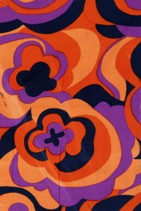 Porin Puuvilla fabricdesign by Raili Konttinen 1969