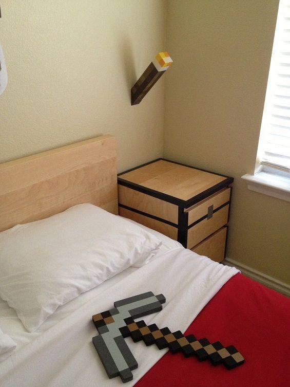 Best 25 Minecraft bedroom decor ideas on Pinterest