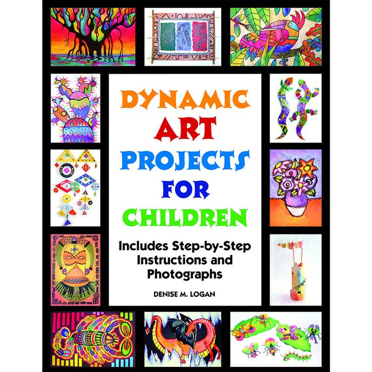 Over 200 color illustrations show easy step-by-step instructions for drawing and painting with paper, ceramics, printmaking, and sculpture. These art projects were created for elementary students to e