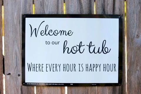 hot tub signs - Google Search