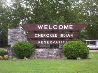 Cherokee, North Carolina <3 The town of Cherokee was an actual reservation. I had fun whenever I visited that place. There were actually Native American children bathing in the rivers*-*I was actually surrounded by real Native Americans.