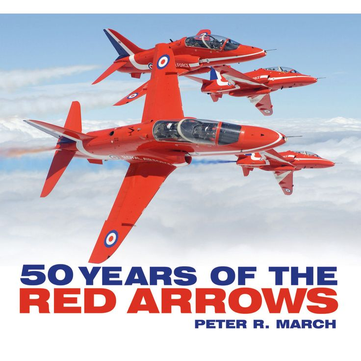 50 Years of The Red Arrows- This special commemorative book tells the story of the Reds, from their creation out of the 1964 Yellowjacks Gnat team, when they adopted their distinctive bright red paint scheme & new name and progressed to the present day, thrilling the public at air shows and other major events the world over.
