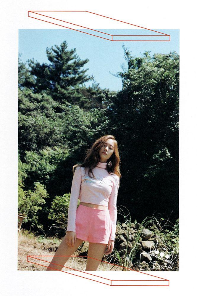 [SCANS] 151031 f(x) The 4th Full Album '4 Walls' [53P] – f ... F(x) Krystal Heirs