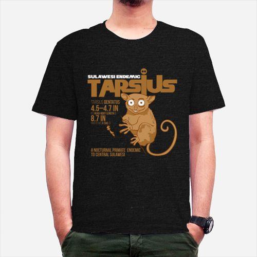 Tarsius Dentantus dari tees.co.id