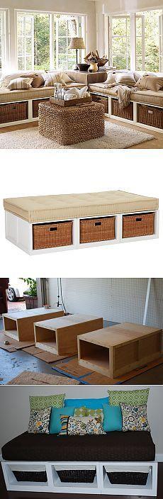 Как сделать диван своими руками / KNITLY.com - блог о рукоделии