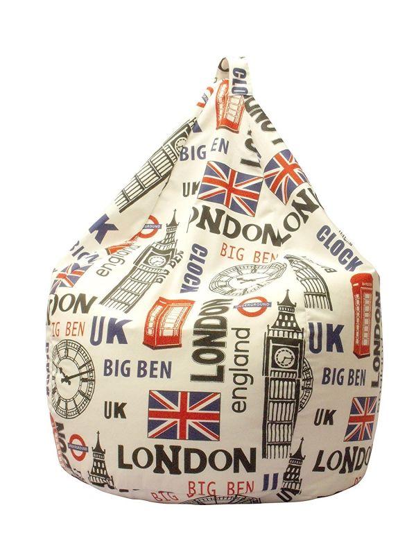 Un comodo sacco in cotone che puoi comodamente utilizzare come pouf e poltrona, con lo stile londinese. In sconto del 41%! SEGUICI ANCHE SU TELEGRAM: telegram.me/cosedadonna