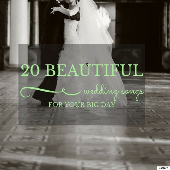 Great Wedding Songs To Choose For Your First Dance Or Throughout The Night