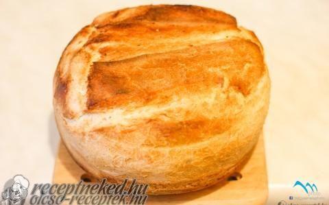 Jénaiban sült kenyér recept fotóval