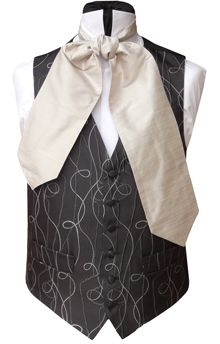 WWW.TOMSAWYERWAISTCOATS.CO.UK - Neckwear Mens Outfitters How to tie a Cravat Buy UK