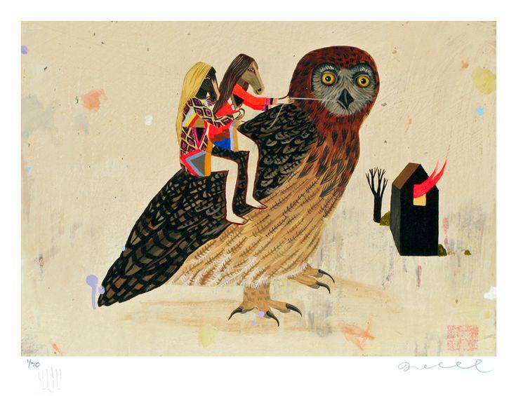 Deedee Cheriel's Magna Voyage, Let Me Down Easy on Poster Child Prints