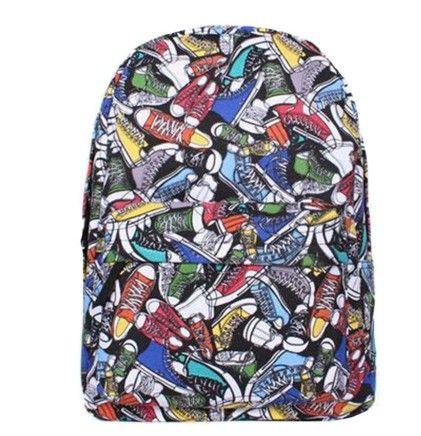 Batoh s potiskem tenisky – batohy Na tento produkt se vztahuje nejen zajímavá sleva, ale také poštovné zdarma! Využij této výhodné nabídky a ušetři na poštovném, stejně jako to udělalo již velké množství spokojených zákazníků …
