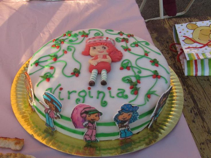 Starwberry shortcake for Virginia's 6th birthday
