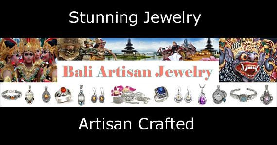 Stunning selection of Artisan Crafted Sterling Silver and Gemstone Jewellery from Bali. #silverjewelry #silver #giftsforher #womensfashion #jewelry #mothersday #mothersdaygift #baliartisanjewelry