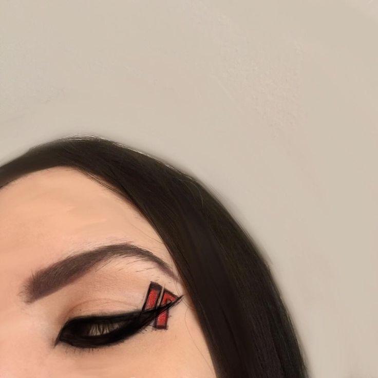 405 Likes  Anastasia Florence (@anastaasiaflorence) on instagram #makeup #eyeshadow #eyeliner #linkinpark #eyemakeup #mua