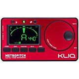 KLIQ MetroPitch - Metronome Tuner for All Instruments - with Guitar Bass Violin Ukulele and Chromatic Tuning Modes - Tone Generator - Carrying Pouch Included Redby KLIQ Music Gear630% Sales Rank in Musical Instruments: 80 (was 584 yesterday)(312)Buy new: $49.00 $24.95 (Visit the Movers & Shakers in Musical Instruments list for authoritative information on this product's current rank.)