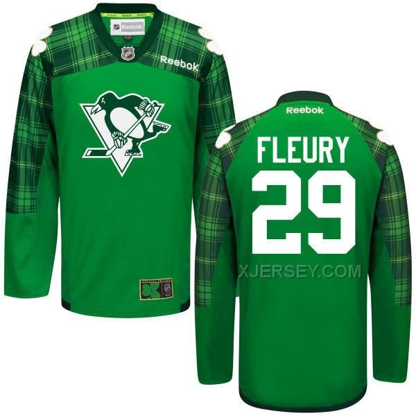 http://www.xjersey.com/penguins-29-andre-fleury-green-st-patricks-day-reebok-jersey.html PENGUINS 29 ANDRE FLEURY GREEN ST. PATRICK'S DAY REEBOK JERSEY Only $53.00 , Free Shipping!