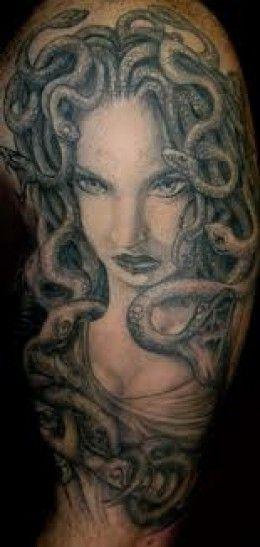 Medusa Tattoos And Designs-Medusa Tattoo Meanings And Ideas-Mudusa Tattoo Pictures
