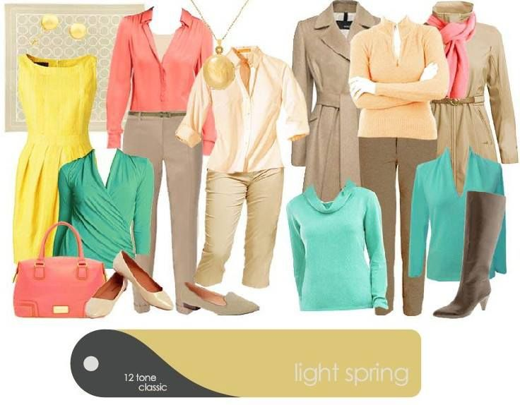 "Luminant Colors: ""I would love to see a light spring SC casual day look. I would also love to see a Light Spring winter look."""