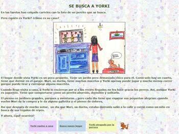 Cuentos interactivos Junta de Andalucía