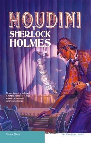 HOUDINI Y SHERLOCK HOLMES. - En opinión de quelibroleo.com nos encontramos ante un libro que bien podía haber sido escrito por Conan Doyle. El autor muestra oficio y la trama es entretenida. Vuelven Watson y Holmes, viejos conocidos de todos nosotros, en esta caso con la colaboración del célebre mago Houdini. Con toda seguridad Daniel Stashower escribirá más novelas sobre Holmes, luego los seguidores del famoso detective estamos de enhorabuena. Es una lectura ideal para jóvenes...