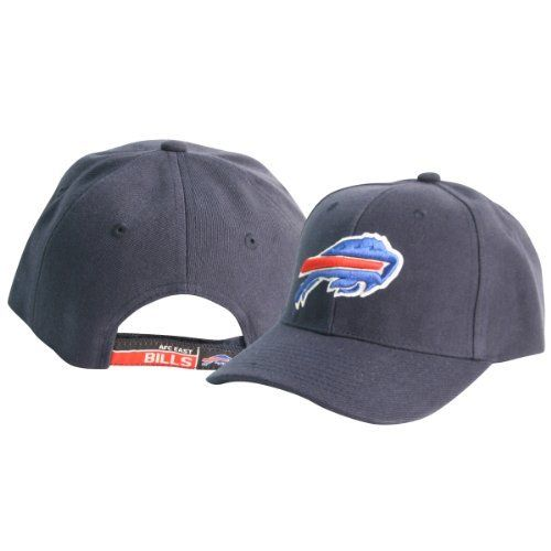 Buffalo Bills Classic Adjustable Baseball Hat - Navy by NFL. $17.95. One size fits most ages 13+. Makes a great gift item!. Officially licensed. Show off your team spirit with this officially licensed adjustable baseball hat. One size fits most ages 13+. Makes a great self purchase or gift item. This item is fulfilled by Amazon.