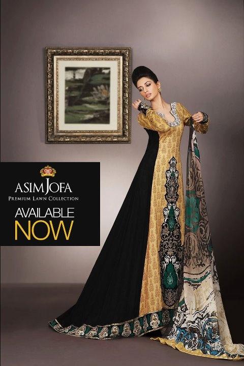 Asim Jofa Premium Lawn Collection for Eid 2011