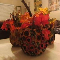 161 best images about easy arts and crafts ideas for for Fall craft ideas for seniors