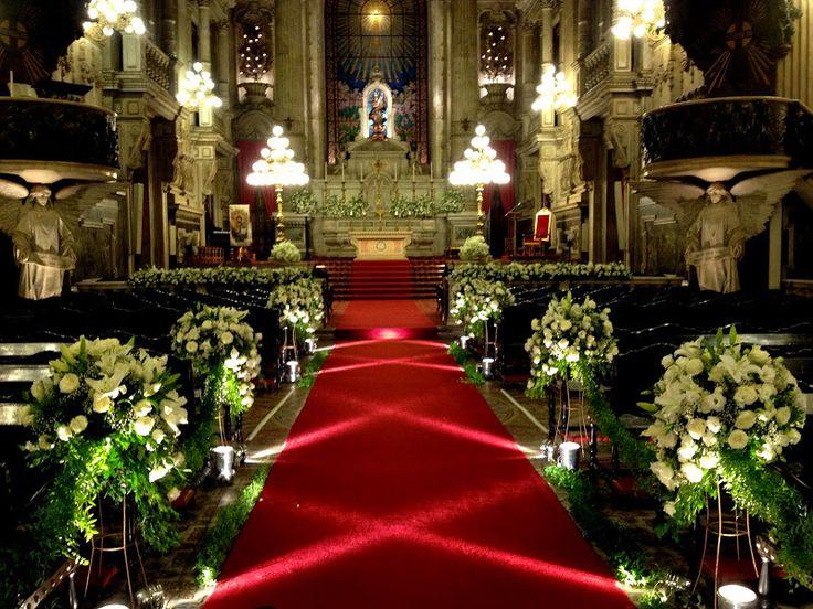 De Igreja auf Pinterest  Arranjos De Casamento, Decoração De 15