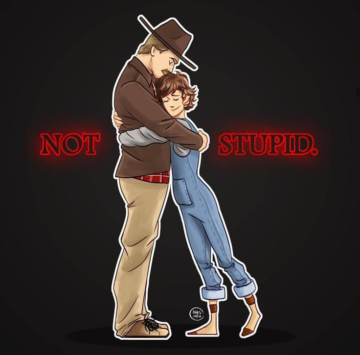 We're not stupid. AWW! I love this so much!!