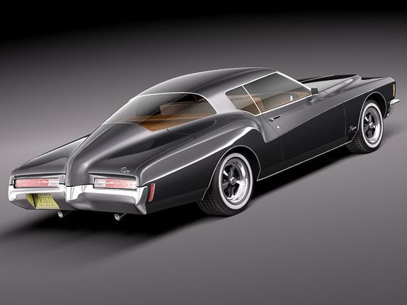 Buick 1971 Riviera GS Boattail - looks better now than when it came out. Lots of possibilities ~