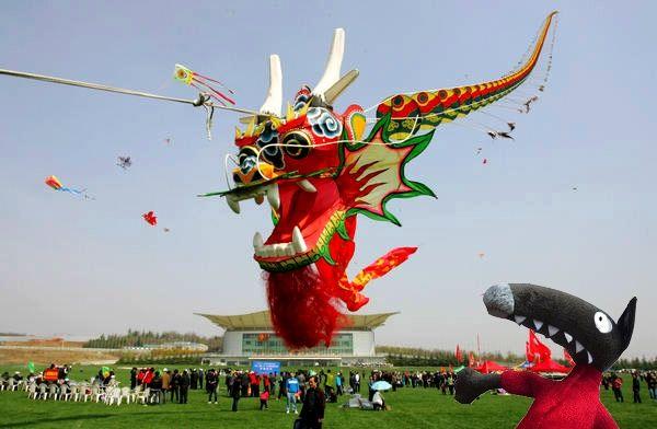 festival cerf-volant - Chine