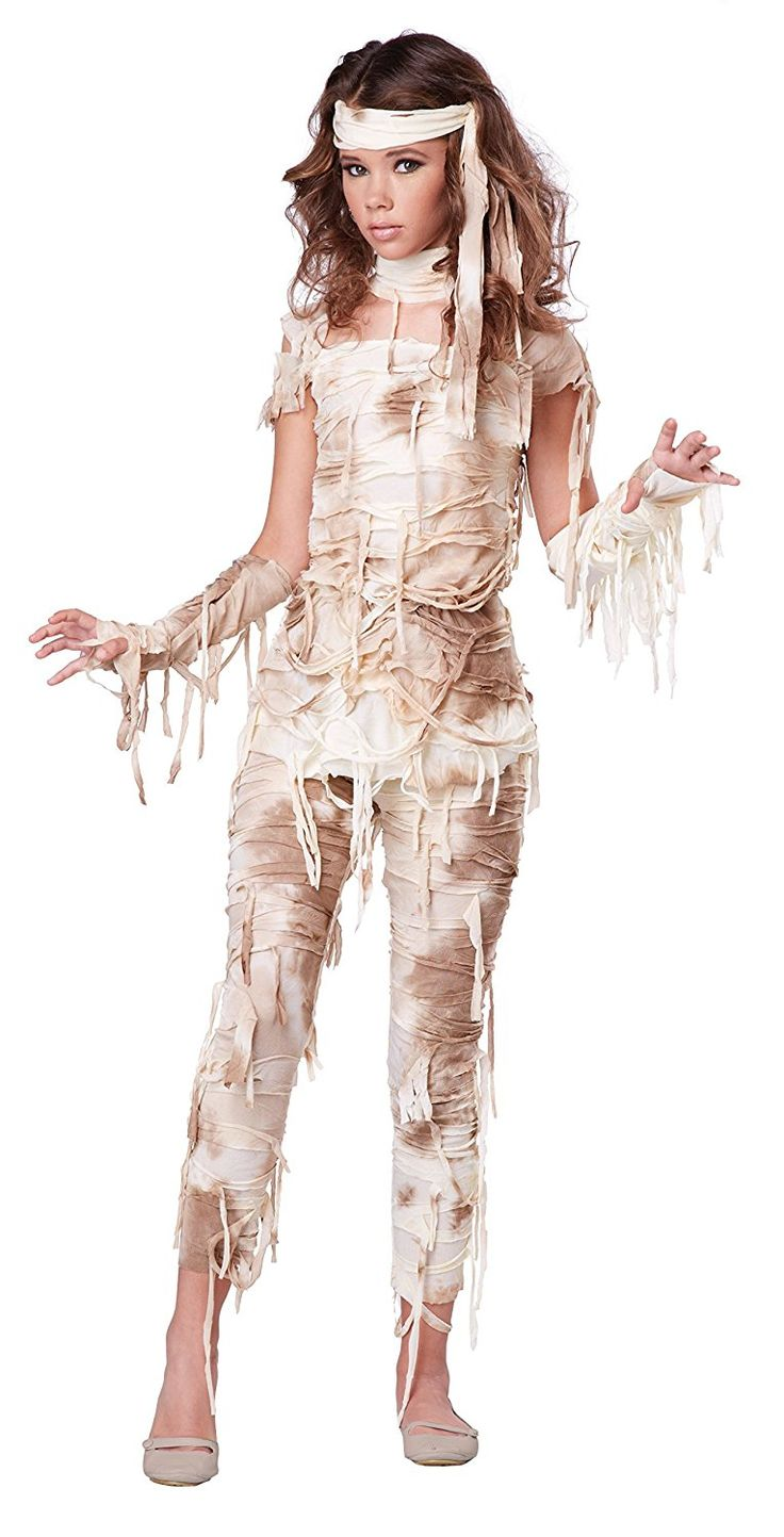 AmazonSmile: California Costumes Mysterious Mummy Tween Costume, X-Large: Toys & Games