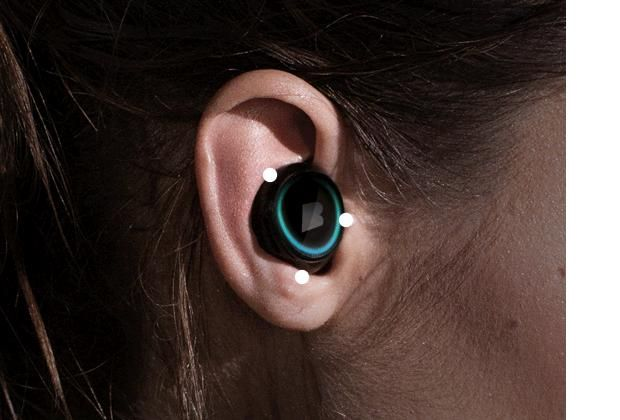 These wireless headphones will put an end to tangled wires--plus they can measure your heart rate and calories burned.