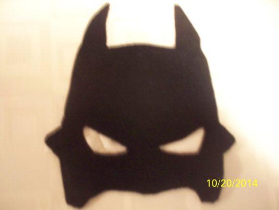 Bat человек маска Детская Хэллоуин Вечеринка Дети Кино Superhero маска дни рождения костюм Аксессуары чувствовал Маски