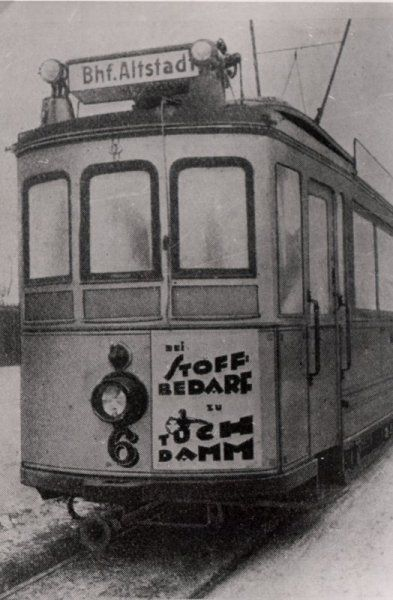 Küstrin - Die städtische Straßenbahn