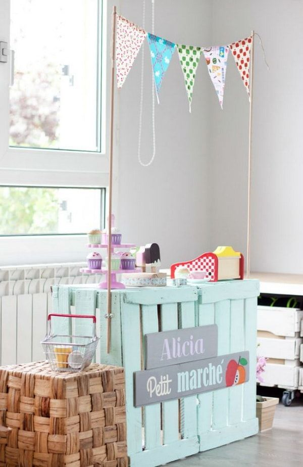 Ideas con cajas de madera decoraci n con huacales de - Cajas madera decoracion ...