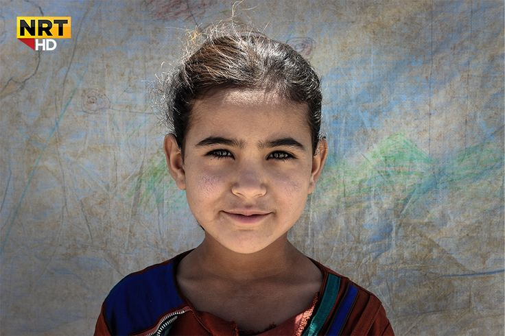 Some eyes smile but they hide the biggest secret in the universe. These cute kids are the refugees near the Erbet camp in Southern Kurdistan.