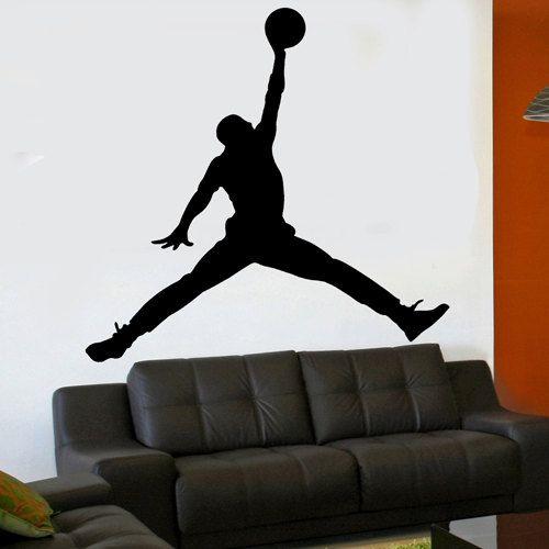 Vinyl Wall Sticker Decal Michael Jordan Jumpman 6 Foot X 6