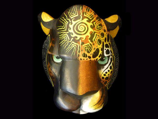 """Grace and Strength"":Jaguar Mask"