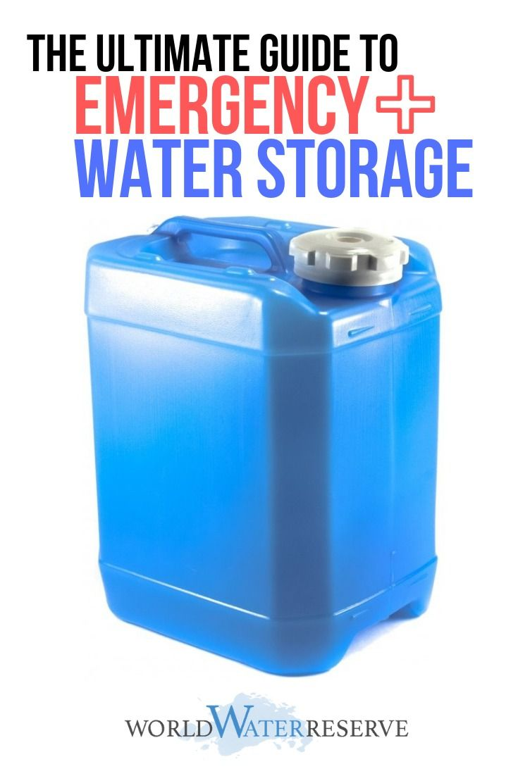 How to Choose from the 16 Best Water Storage Containers for