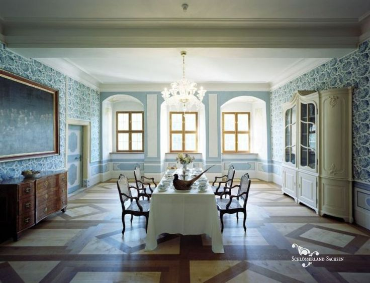 Delitzsch Castle - The Dining Hall on the Bel-etage