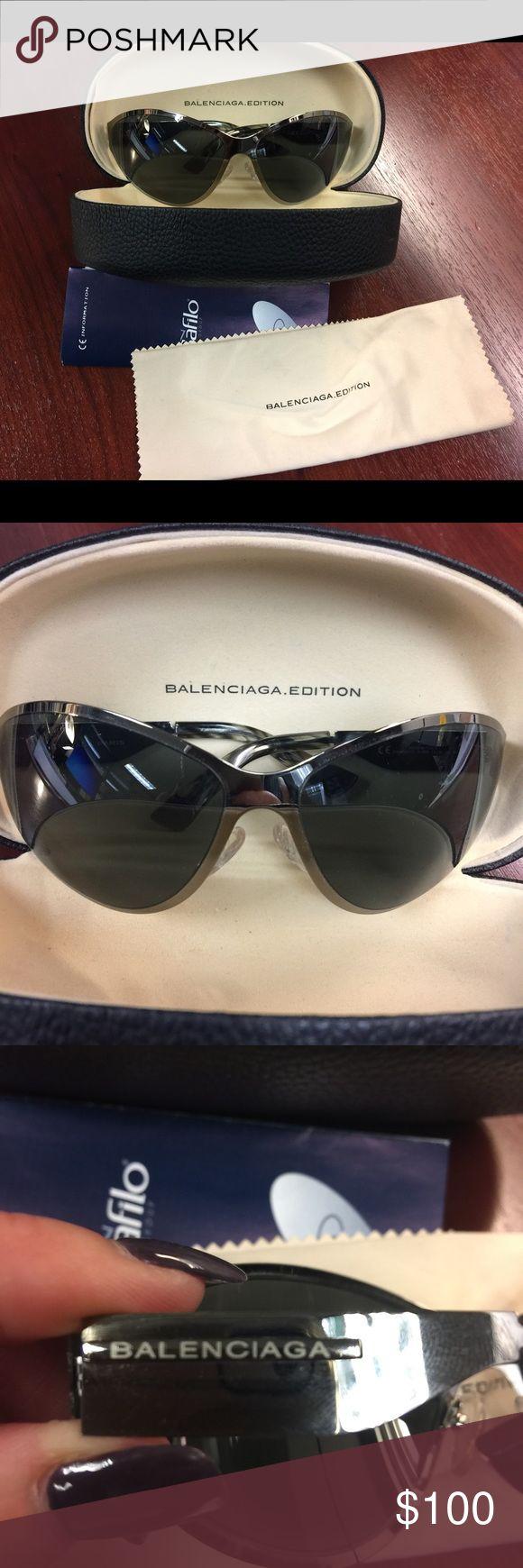 Balenciaga Sunglasses Like new condition! Light weight! Great sunglasses!!! Balenciaga Accessories Sunglasses
