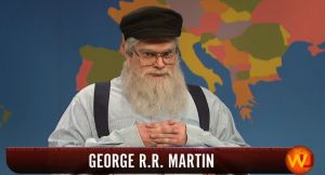 SNL George RR Martin Game of Thrones