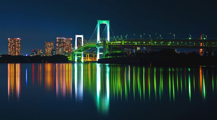Rainbow Bridge (Tokyo) by Aubrey Stoll, via 500px