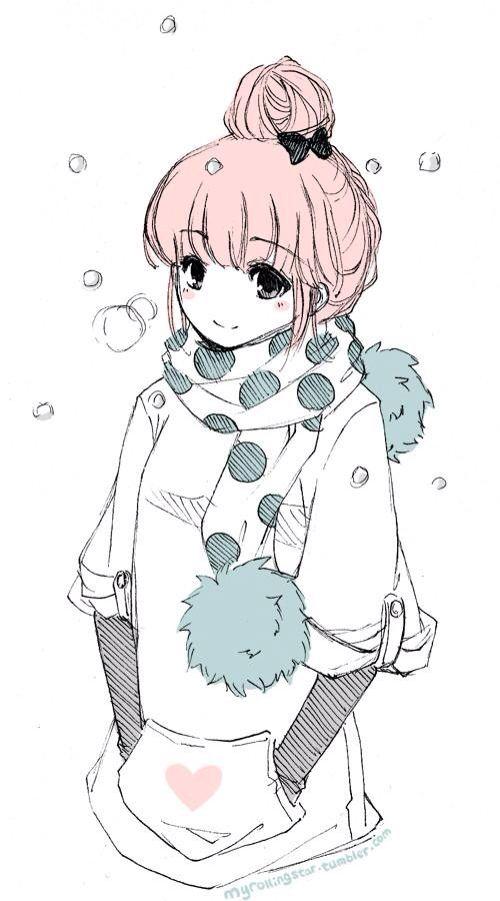 anime...drawing..girl