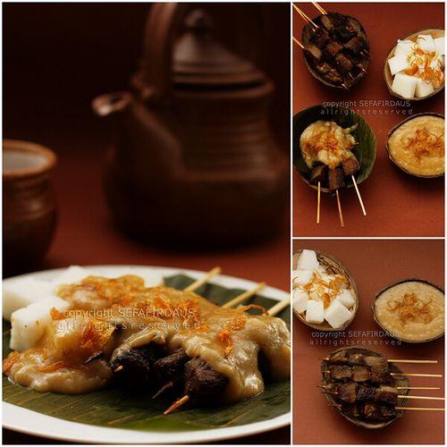 Food is Love: Sate Padang (West Sumatran Satay) Indonesian food
